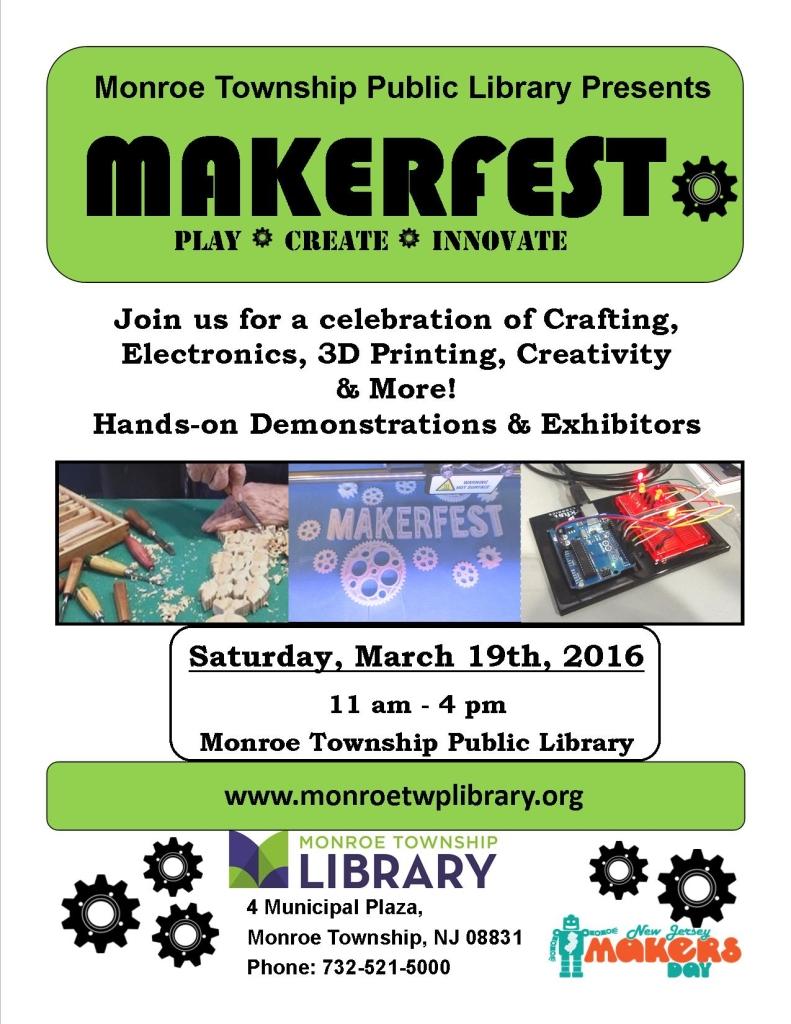 Makerfest MTPL flyer 2016